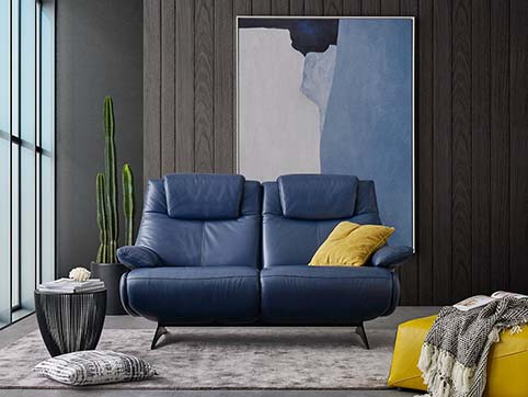 canape cuir pleine fleur bleu ferme 1