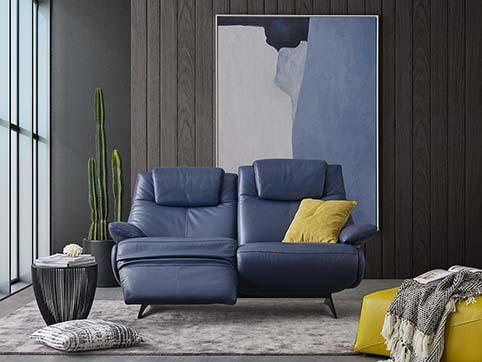 canape cuir pleine fleur bleu ouvert 3