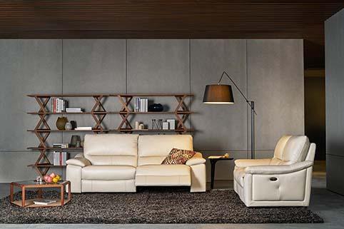 canape fauteuil salon cuir beige