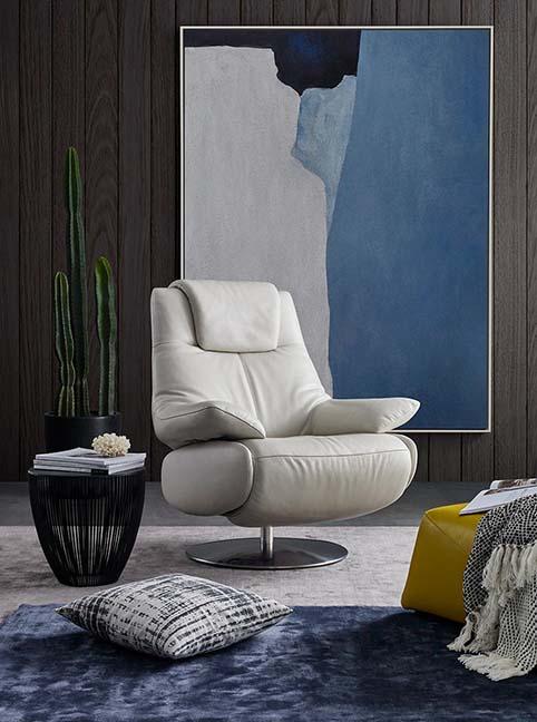 fauteuil cuir buffle relax blanc ferme 1