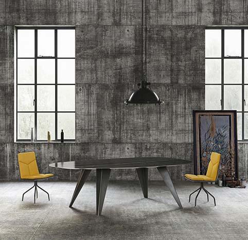 table ovale design large