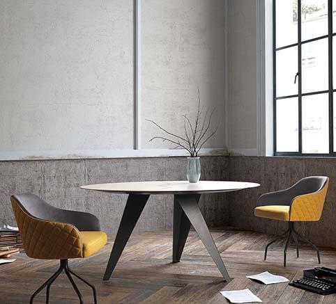 table ovale design