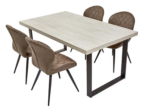 table rectangulaire salle a manger 4 places
