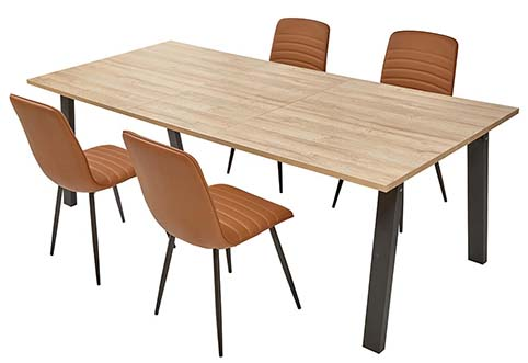 table rectangulaire salle a manger 6 places