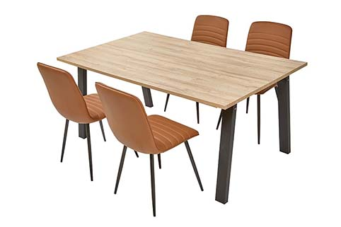 table rectangulaire salle a manger design 2