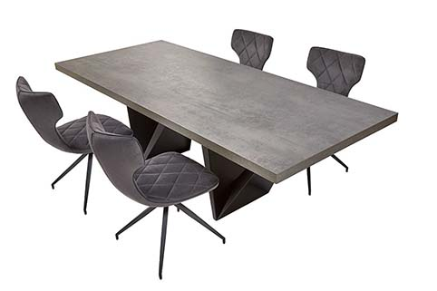 table rectangulaire salle a manger moderne