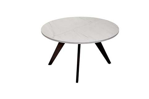 table ronde salle a manger contemporaine
