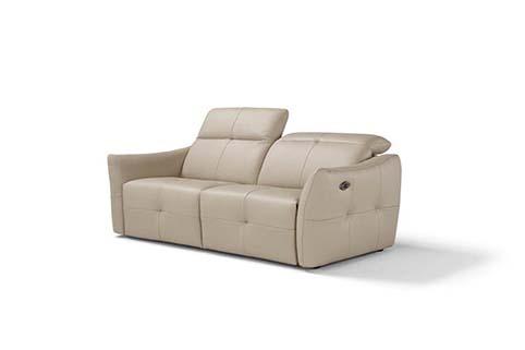 canape cuir design droit relax  confort