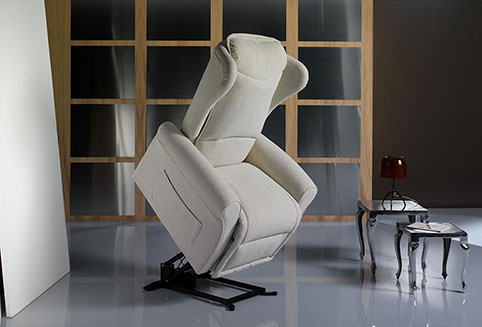 fauteuil relaxation lift creme design qualite