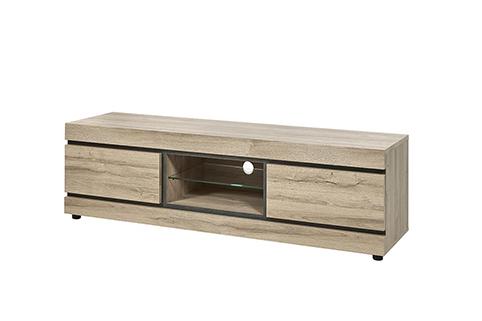 Meuble salon meuble tv 3 compartiments