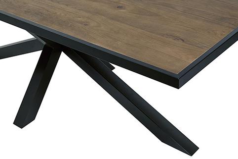 table pied en croix 3