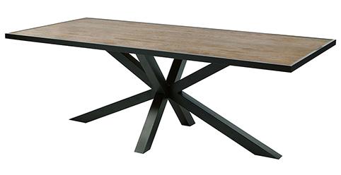 table pied en croix