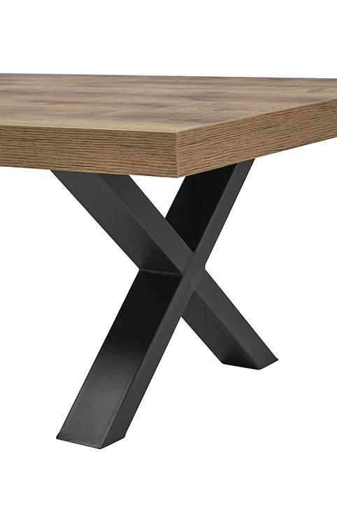 Focus meuble table tv pieds coises