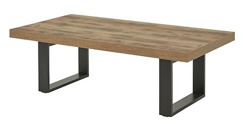 Meuble TV table pieds plats