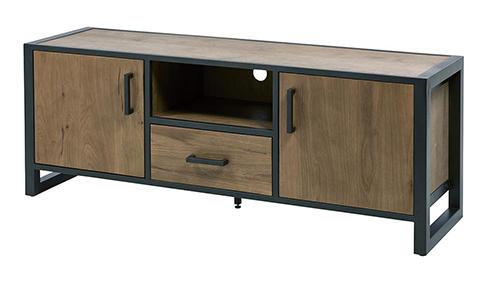 Meuble de salon tiroir portes tv