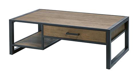 Table de salon tiroir droite