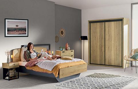 chambre a coucher design bois 2
