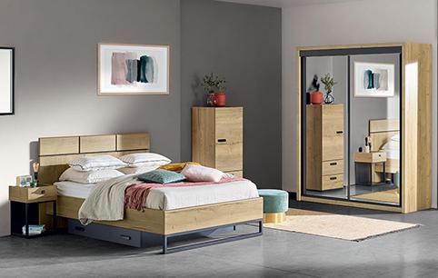 chambre a coucher design bois 3
