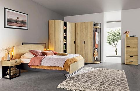 chambre a coucher design bois