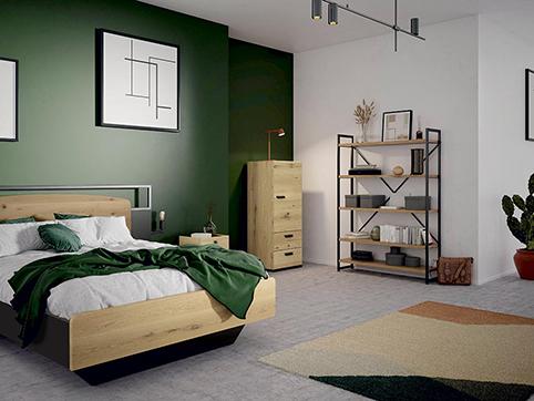 chambre a coucher moderne en bois