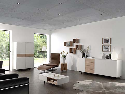 Meuble salon bas moderne