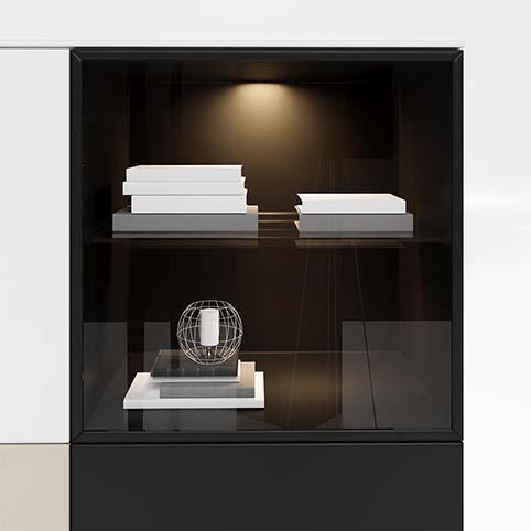 Meuble salon rangement design divers