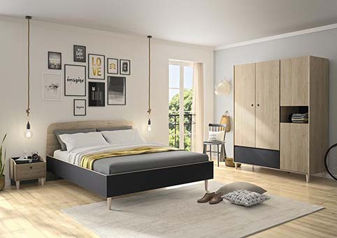 chambre a coucher adulte AXEL 01