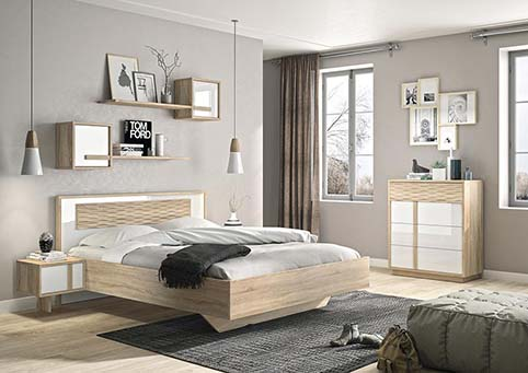 chambre a coucher adulte CURTYS 01