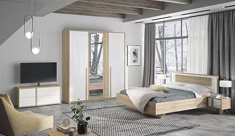chambre a coucher adulte CURTYS 02