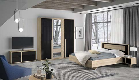 chambre a coucher adulte CURTYS 04
