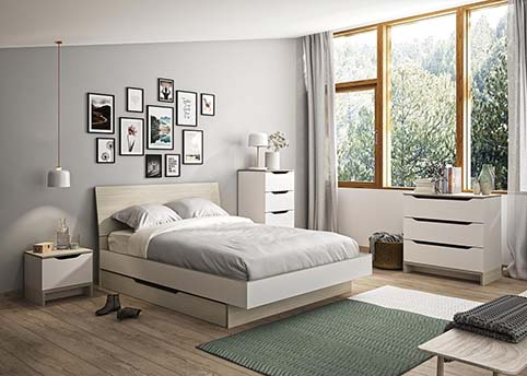 chambre a coucher adulte GRAY 01