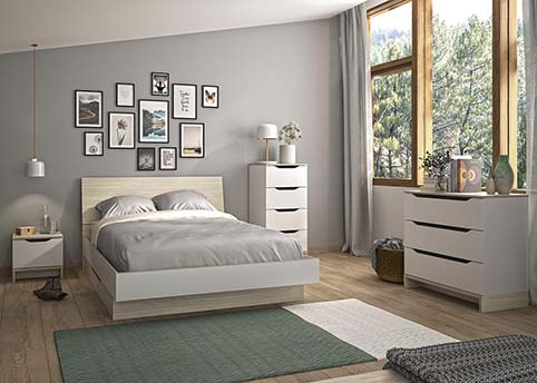 chambre a coucher adulte GRAY 02