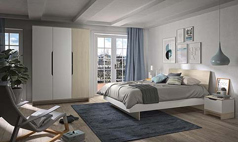 chambre a coucher adulte GRAY 03
