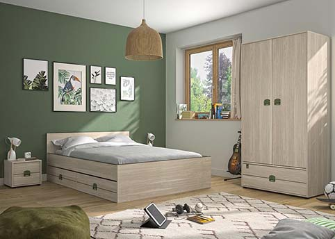 chambre a coucher adulte INDIANA 01