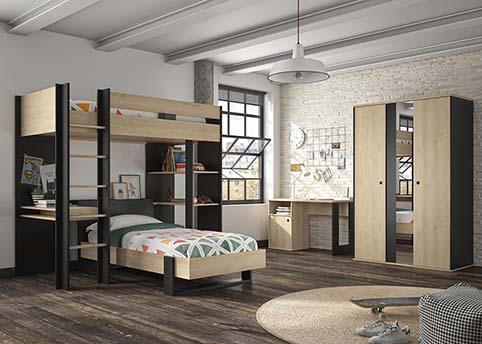 chambre a coucher jeune enfant DUPLEX 07