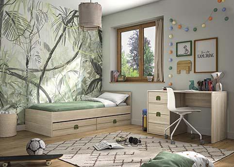 chambre a coucher jeune enfant INDIANA 03