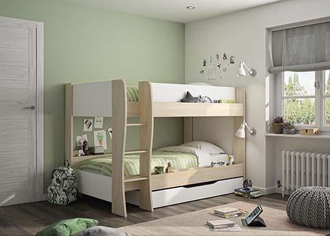 chambre a coucher jeune enfant LITS 02