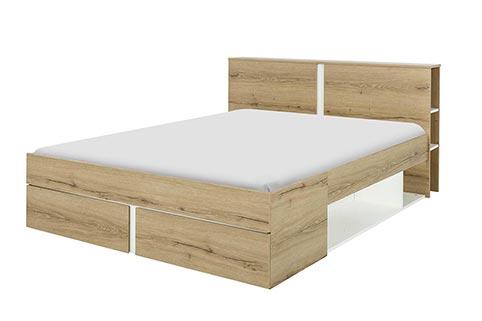 Lit chambre a coucher adulte Nestor 011