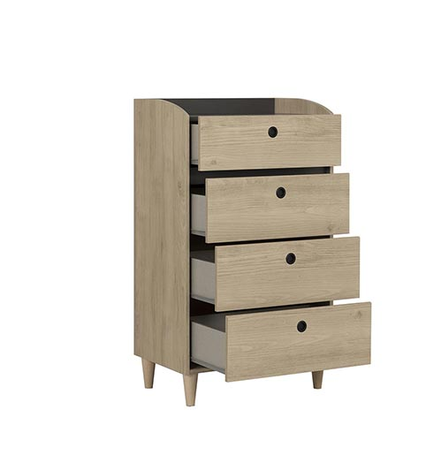 commode chambre a coucher adulte AXEL 03