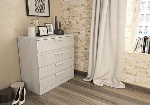 commode chambre a coucher adulte CYRUS 18