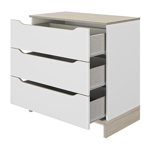 commode chambre a coucher adulte GRAY 01