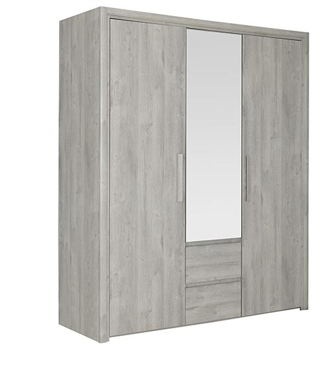 garde robe armoire chambre a coucher adulte ABBY 01