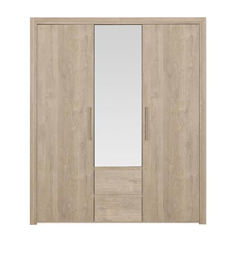 garde robe armoire chambre a coucher adulte ABBY 04