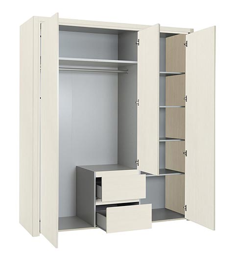 garde robe armoire chambre a coucher adulte ABBY 08