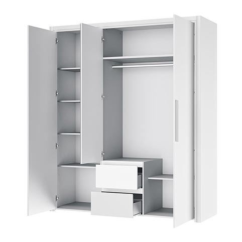 garde robe armoire chambre a coucher adulte ABBY 09