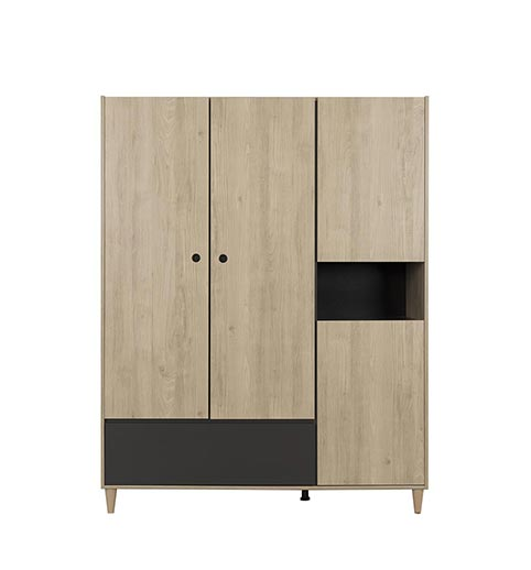 garde robe armoire chambre a coucher adulte AXEL 01