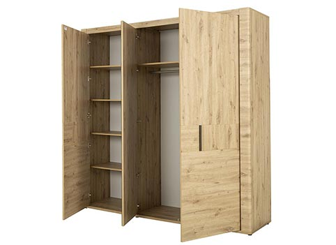 garde robe armoire chambre a coucher adulte CONFIDENCE 02