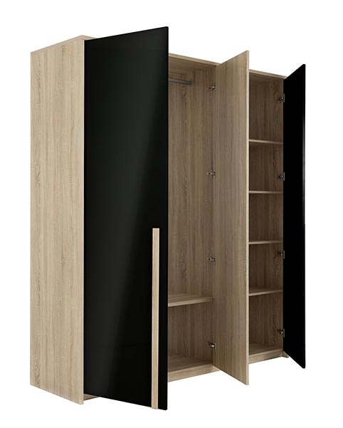 garde robe armoire chambre a coucher adulte CRUTY 02