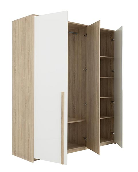 garde robe armoire chambre a coucher adulte CRUTY 04