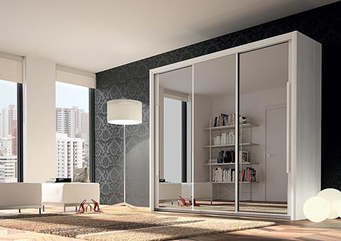 garde robe armoire chambre a coucher adulte CYRUS 03
